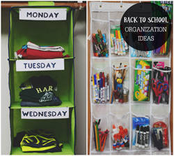 Empire Closets in Portland OR has some helpful organization tips for when your kids go back to school.