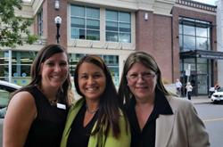 Angie Barnard, Charlene SanJenko, Denise Tacon