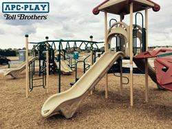 Toll Brothers Reata North Development new playground equipment