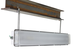 Suspended Aluminum I-Beam Hazardous Area LED Light Fixture