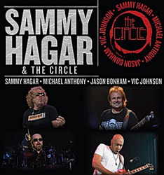 Sammy Hagar and The Circle concert on September 6, 2015 at 8pm
