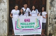 One Million Words team in Laos