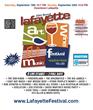 Lafayette Art & Wine Festival 2015 Graphic