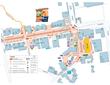 Lafayette Art & Wine Festival 2015 - Map