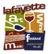 Lafayette Art & Wine Festival 2015 Logo