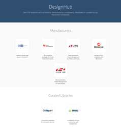 The DesignHub Connects Electronics Designers With Products Developed or Curated by Industry-Leading Companies