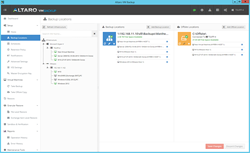Altaro VM Backup's user interface