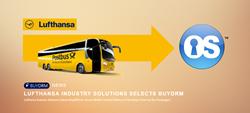 Lufthansa on Postbus