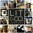Upscale Travel Candles from Boise Based Lit & Co. Part of Celebrity Swag Bags at GBK's Pre-Primetime Emmys Gift Lounge