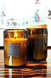 Recycled Wine Bottle Jar Candle from Lit & Co. Candles