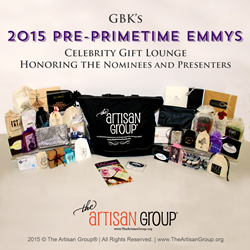 The Artisan Group GBK's 2015 Pre-Primetime Emmys Gift Bag