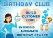 Birthday Club on Wix