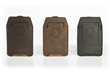 iPhone Orbit Case—three leather color options
