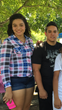 Brianna and A.J. Salazar, during the summer of 2015.