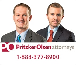 Attorneys Ryan Osterholm and Brendan Flaherty