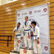 Mixed Martial Artist and Dr. Matsuda Patient Patrick Stoia (center) competes at the Gracie Barra Nationals