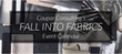 Join Coupar Consulting For Three Weeks of Innovative Programming in Honor of the San Francisco Design Center's Fall into Fabrics Celebration