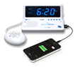 Sonic Alert's Newest Alarm Clock - Time to 'Rise 'n Shine' for the Back-To-School Crowd