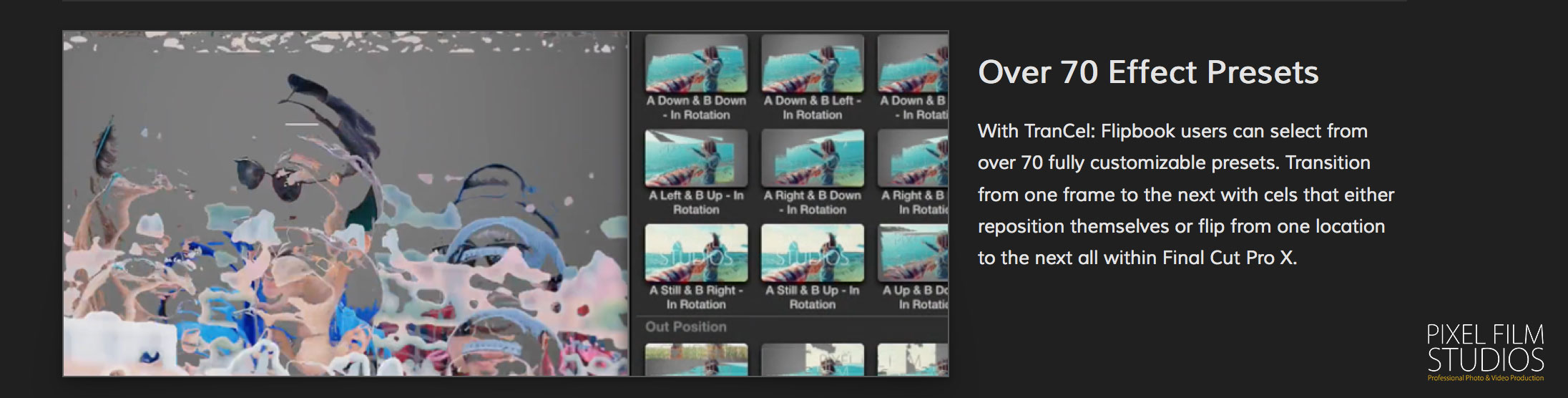 how to insert transition in final cut pro x