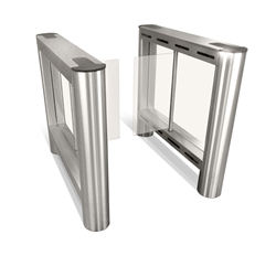Fastlane Glassgate 150 optical turnstile for entry security