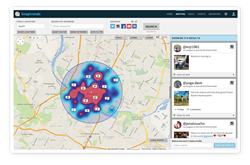Snaptrends location-based social media