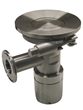 The first device for cleaning the underside of tank agitator blades