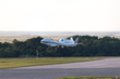 NASA's Global Hawk departs the Wallops Flight Facility in Virginia at 7 a.m., August 26, to study Tropical Storm Erika as part of the NOAA-led mission Sensing Hazards with Operational Unmanned Technol