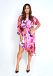 Asymmetrical dress from Yona New York's Fall 2015 Floral Collection
