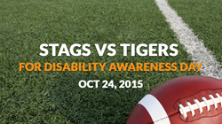 Disabilities Awareness Day Football Game