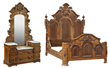 American Renaissance Revival Bed and Chest from the Robert Penn Warren House