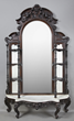 Victorian hall mirror with marble from the Robert Penn Warren House
