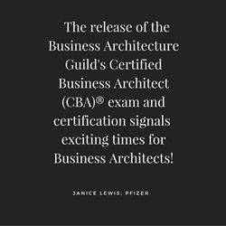 Certified Business Architect (CBA)® program