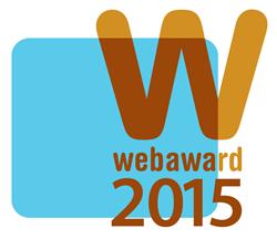 2015 WebAwards Logo