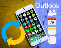AkrutoSync Supports Automatic, Secure, and Wireless Outlook Sync for iPhone 6S and iPhone 6S+