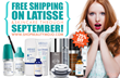 FREE Shipping on Latisse and All Skincare all of September