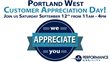 Portland West Customer Appreciation Day
