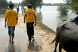Flash floods from monsoons have inundated the region.