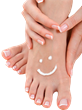 Odorless, greasless, natural Topricin Foot Therapy keeps feet happy and healthy