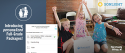 Sonlight Curriculum launches flexible full-grade homeschool packages.