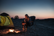 camping invention that makes use of heat