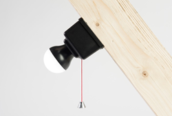 Illuminate your loft instantly with the battery powered LED Loft Light