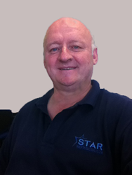 Star Refrigeration Training Manager Dave Bartlett who resettled with Star Refrigeration after his military employment
