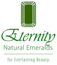 This is the official logo for Eternity Natural Emeralds.
