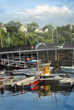 Connecticut Senior Juried Art Show:  1st Place Winner in Painting Category – Lorraine Ryan, age 83, of New Milford, CT – Pirates Cove Boat Basin (Watercolor)