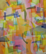 Connecticut Senior Juried Art Show:  Honorable Mention in Painting Category – Audrey A. Namowitz, age 98, of Southbury, CT – Abstract #3 (Acrylic)