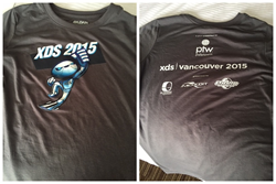 Picture of XDS 2015 official t-shirt sponsored by Pole To Win International