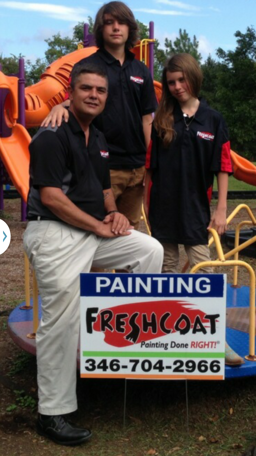 Humar gonzalez opens fresh coat painters franchise in pearland for Gonzalez painting pearland