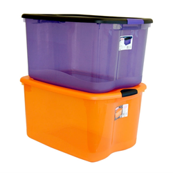 web retailer introduces an expanded line of halloween storage boxes - Sterilite Storage Bins
