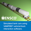 ENSCO, Inc. Becomes North and South American Partner for DeltaRail's VAMPIRE Vehicle/Track Interaction Software