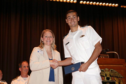 Crowley Honors USMMA Midshipman with the Company's Maritime Security...